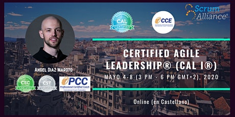 Certified Agile Leadership (CAL I) in Spanish (on-line) entradas