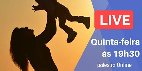 [LIVE] Palestra Online - Mãe e Laços Evolutivos ingressos