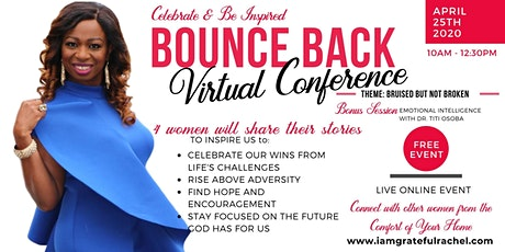 BOUNCE BACK CONFERENCE tickets