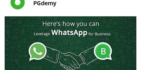 WhatsApp Marketing for Small Business tickets