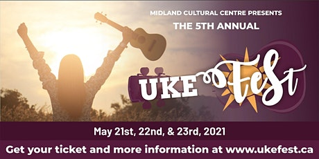Uke Fest 2021 5th Annual Year tickets