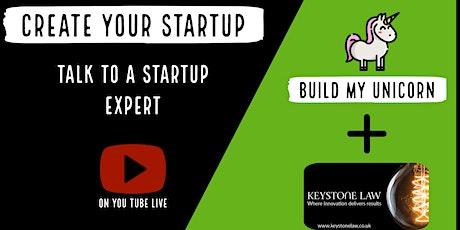 Startup: Talk to a startup expert (online Event) tickets