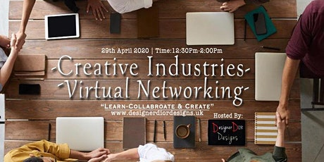 Creative Industries Virtual Networking Event tickets