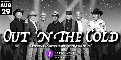 Out 'N The Cold Band LIVE! at Paparazzi OBX! tickets