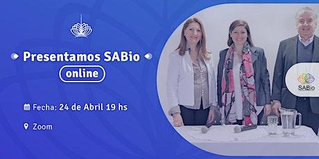 Charla Introductoria ONLINE a SABio tickets