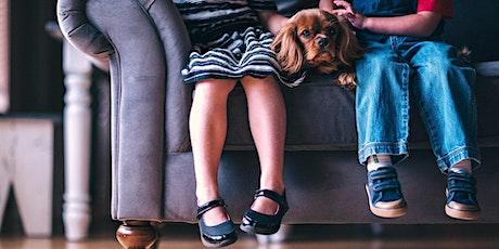 ONLINE-Vortrag Kind & Hund - Wie klappt ein harmonisches Zusammenleben? tickets