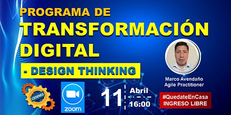 Programa de Transformación Digital  - DESIGN THINKING entradas