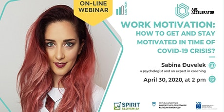 WORK MOTIVATION: How to get and stay motivated in time of COVID-19 crisis? tickets