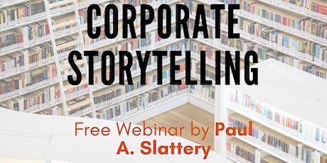 Corporate Storytelling Webinar tickets