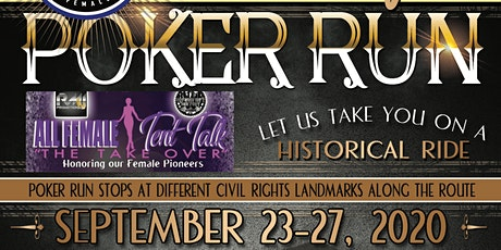 "7th Annual Bessie Stringfield Ride ""Historical Poker Run"" tickets"