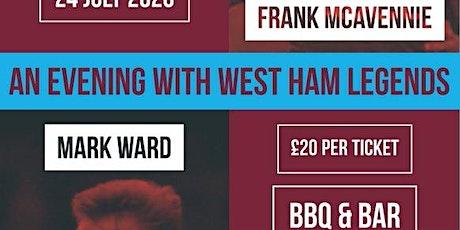 HAMMERS NIGHT with WARD & MCAVENNIE! tickets