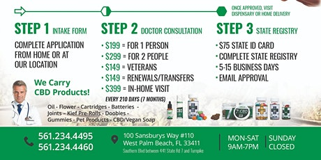 Medical Marijuana Doctor Certification- Medical Marijuana Card tickets