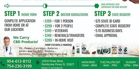 Medical Marijuana Doctor Certification tickets
