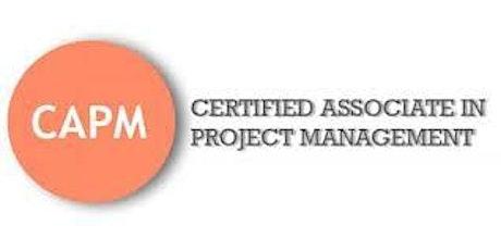 CAPM (Certified Associate in Project Management) Training in Fargo tickets