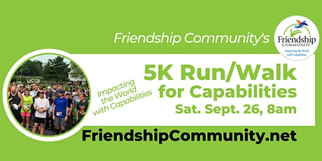 Friendship Community 5K Run/Walk for Capabilities tickets