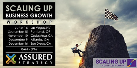 2020 Scaling Up Business Growth Workshop - Portland, OR tickets