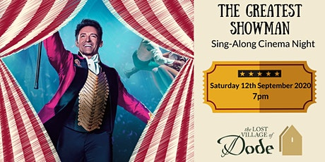 The Greatest Showman - Cinema Night tickets