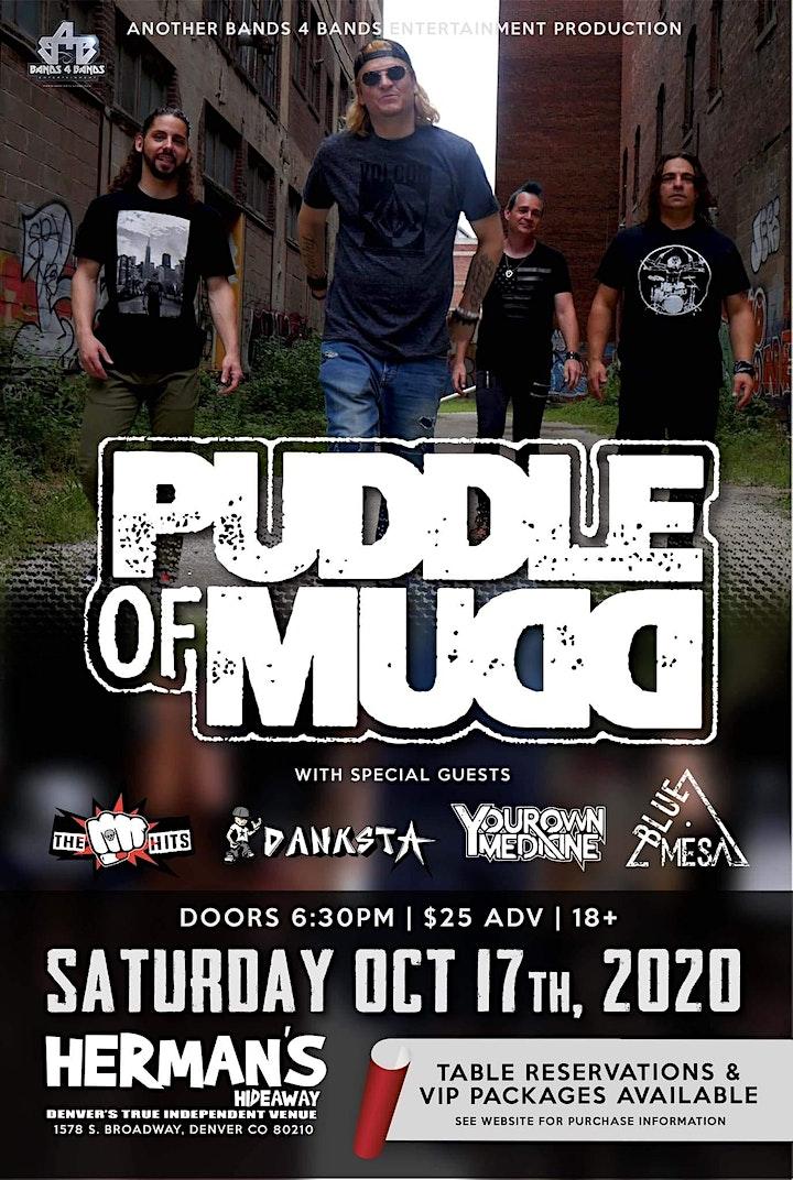 Canceled PUDDLE OF MUDD ALBUM TOUR/ canceled image