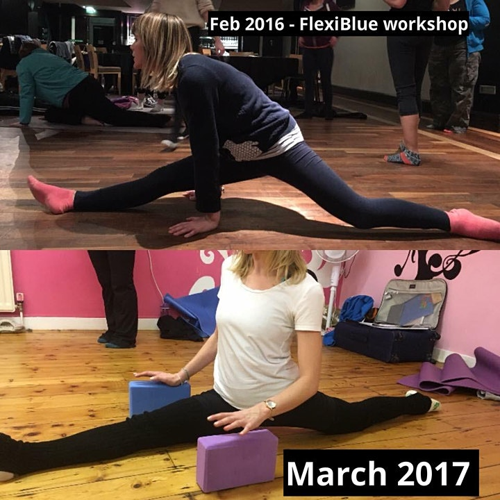 Online FlexiBlue Beginners/Improvers Splits Workshop image