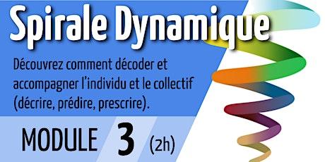 Spirale Dynamique - Module 3 billets