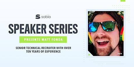 Careers in Tech - Sabio Speaker Series tickets