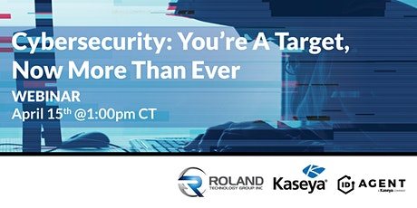Cyber Security: You're A Target Now More Than Ever tickets
