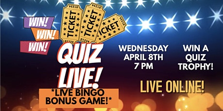 Live 'General Knowledge' Themed Interactive Smartphone Quiz! tickets