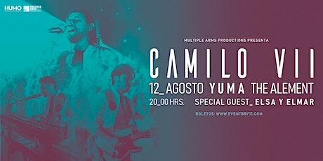Camilo Septimo en Yuma, AZ boletos