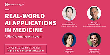 Online Pie & AI: Real-world AI Applications in Medicine tickets