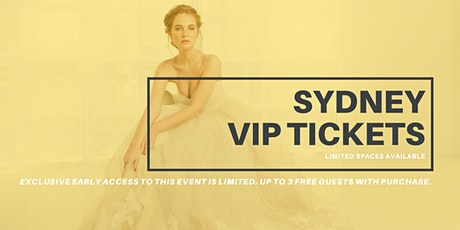 Opportunity Bridal VIP Early Access Sydney Pop Up Wedding Dress Sale tickets