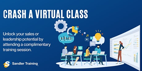 """Crash A Virtual Class"" with Sandler Training Miami tickets"