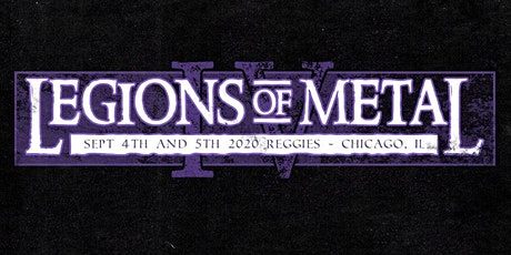 POSTPONED: Legions of Metal Fest tickets