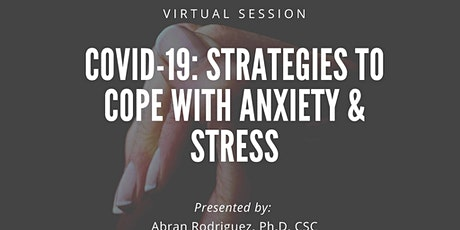 Facebook LIVE! - Strategies to Cope with Anxiety & Stress tickets