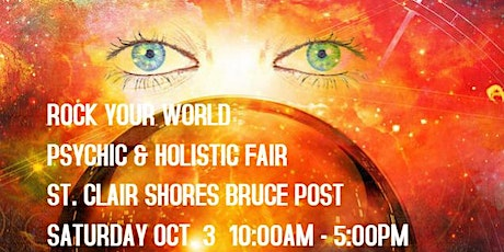 Rock Your World St. Clair Shores Psychic & Holistic Fair tickets