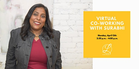 Virtual Co-Working with Surabhi tickets