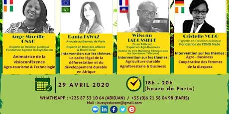 Les Rendez vous d'investissement en Afrique 2020 billets