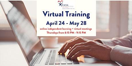 CASA Volunteer Virtual Training tickets