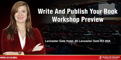 Write And Publish Your Book Workshop Preview tickets