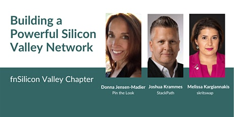 fnSilicon Valley: Building a Powerful Silicon Valley Network tickets