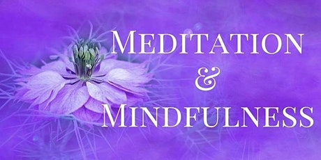 Introduction to meditation and mindfulness tickets