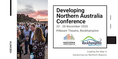 2020 Developing Northern Australia Conference tickets
