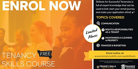 Online Classroom Tenancy Skills Course tickets