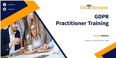 EU GDPR Practitioner Training in Moscow Russia tickets