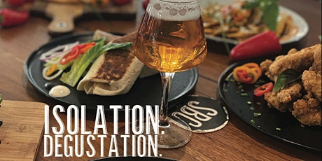 ISOLATION DEGUSTATION V:  Two Cans an Two Courses tickets