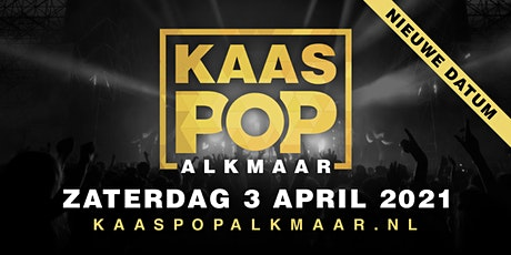 KaasPop Alkmaar 2022 tickets