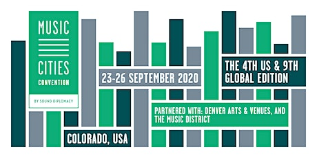 Music Cities Convention - Colorado 2020 tickets