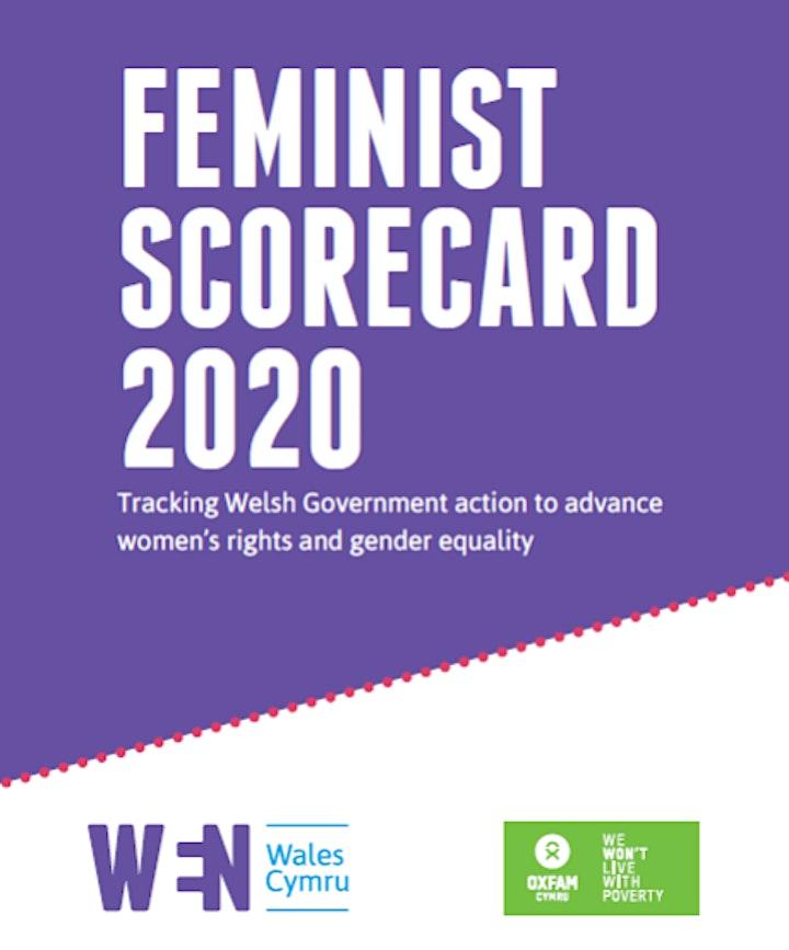 Online Launch -  Feminist Scorecard for Welsh Government 2020 image