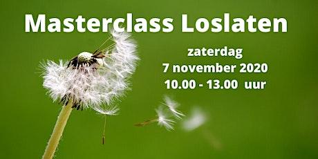 Masterclass Loslaten 7 november 2020 tickets
