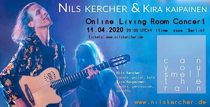 Nils Kercher & Kira - live online concert - SONGS IN OUR LIVING ROOM: Bild