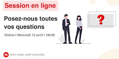 [ONLINE] Session d'information le wagon Lyon le 15 Avril - Apprendre à code tickets
